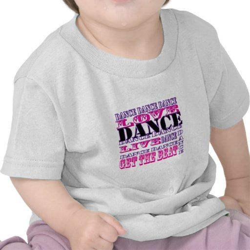El amor de la danza vivo consigue a chicas del gol camisetas
