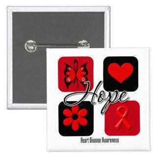 El amor de la enfermedad cardíaca inspira concienc pin