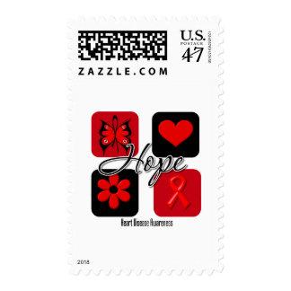 El amor de la enfermedad cardíaca inspira estampillas