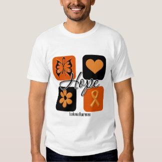 El amor de la esperanza de la leucemia inspira camisas
