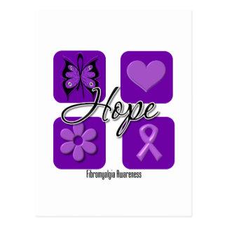 El amor de la esperanza del Fibromyalgia inspira c Postales
