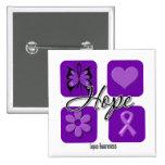 El amor de la esperanza del lupus inspira concienc pin