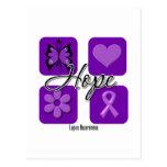 El amor de la esperanza del lupus inspira concienc tarjeta postal