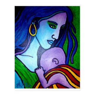 El amor de la mamá por Piliero Tarjetas Postales