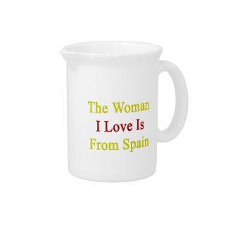 El amor de la mujer I es de España Jarrones