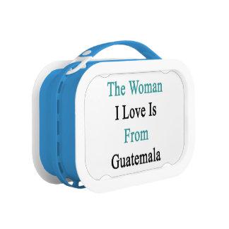 El amor de la mujer I es de Guatemala