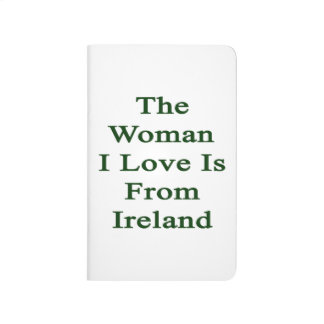El amor de la mujer I es de Irlanda Cuaderno Grapado