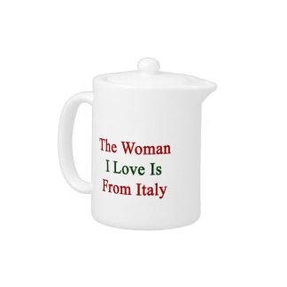 El amor de la mujer I es de Italia