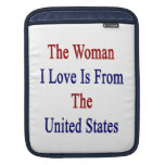 El amor de la mujer I es de los Estados Unidos Fundas Para iPads