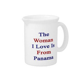 El amor de la mujer I es de Panamá Jarra De Beber