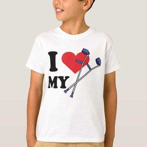 El amor de la muleta embroma T Playera