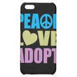El amor de la paz adopta