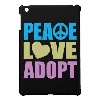 El amor de la paz adopta iPad mini protector