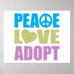 El amor de la paz adopta poster