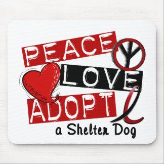 El AMOR de la PAZ ADOPTA un perro del refugio Tapete De Raton