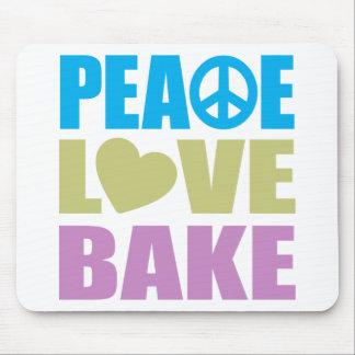 El amor de la paz cuece alfombrillas de ratones