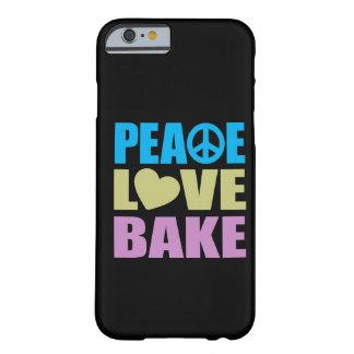 El amor de la paz cuece funda de iPhone 6 barely there