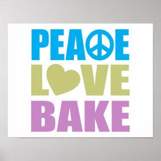 El amor de la paz cuece posters