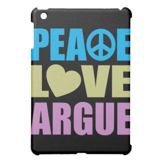 El amor de la paz discute