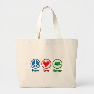 El amor de la paz ocupa bolsas