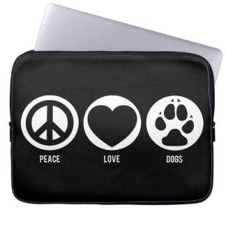 El amor de la paz persigue la manga del ordenador  fundas portátiles