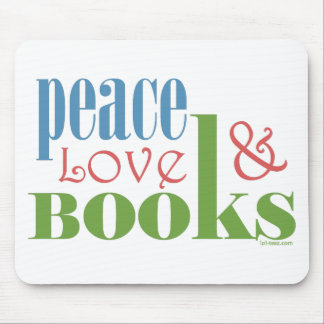El amor de la paz reserva II Alfombrilla De Ratón