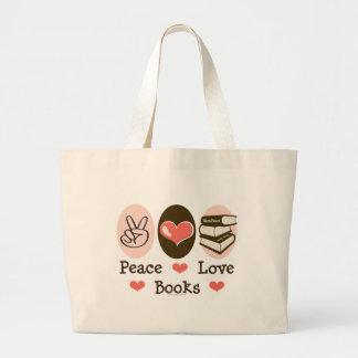 El amor de la paz reserva la bolsa de asas de la l
