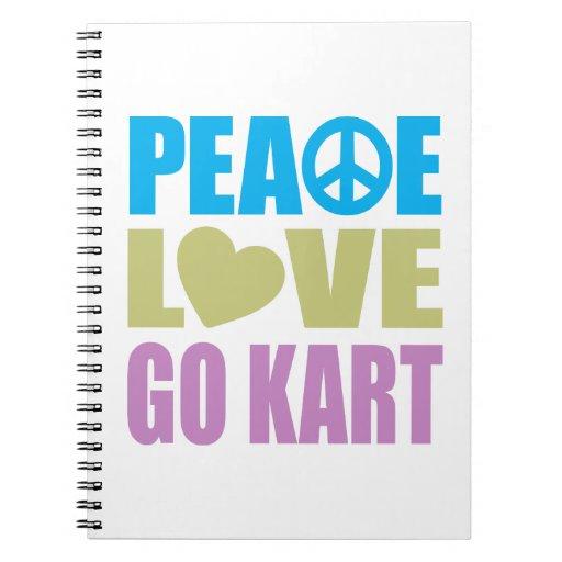 El amor de la paz va Kart Cuadernos