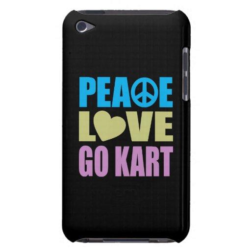 El amor de la paz va Kart iPod Touch Case-Mate Cobertura