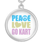 El amor de la paz va Kart Grimpolas Personalizadas