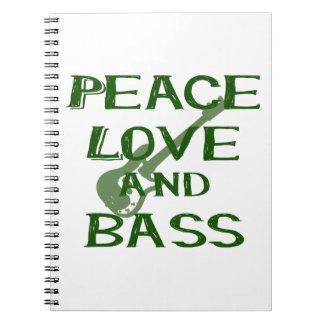 el amor de la paz y el bernice del bajo ponen libros de apuntes