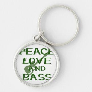 el amor de la paz y el bernice del bajo ponen llaveros