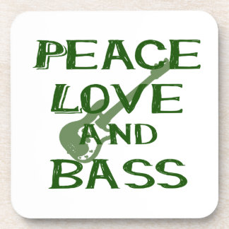 el amor de la paz y el bernice del bajo ponen posavasos de bebidas