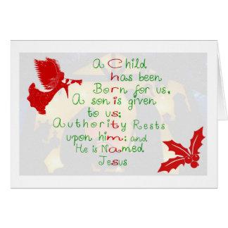 El amor de la tarjeta de felicitación del navidad