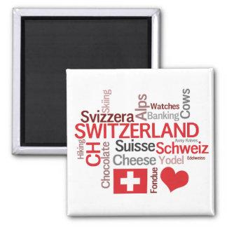 El amor de las cosas I sobre Suiza Imán Cuadrado
