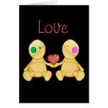 El amor de las puntadas tarjetón