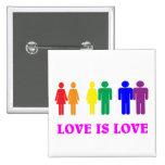 El amor de LGBT es amor Pin