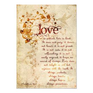 El amor de los Corinthians del KRW es: Invitación