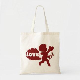El amor de los Cupids Fart Bolsas De Mano