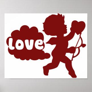 El amor de los Cupids Fart Póster