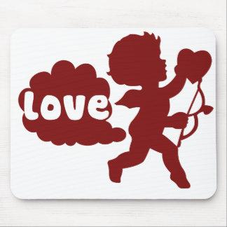 El amor de los Cupids Fart Alfombrilla De Ratones