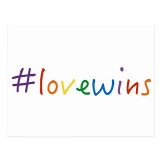 el amor de los #lovewins gana orgullo de la tarjetas postales