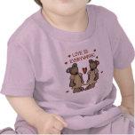 El amor de los osos está por todas partes las camisetas