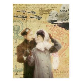 El amor de los pares del el día de San Valentín de Postales