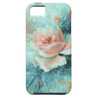 El amor de madres color de rosa del vintage funda para iPhone SE/5/5s