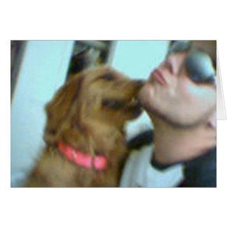 ¡El amor de perrito! Felicitacion