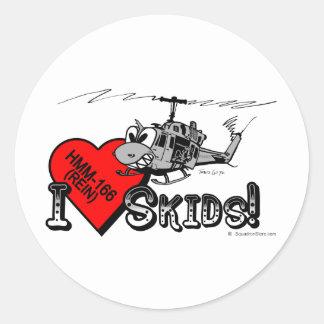 El amor de UH-1N I patina pegatina de los 3in