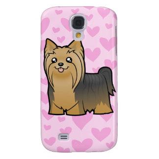 El amor de Yorkshire Terrier (pelo largo) añade un Carcasa Para Galaxy S4