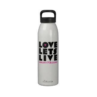 El amor deja vivo/Abort73.com Botallas De Agua