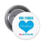 El amor del amor de la fuerza aérea está en el air pin